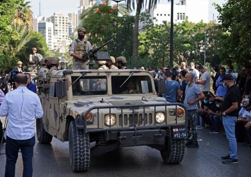 لبنان.. قتيل و6 جرحى بإطلاق نار خلال مظاهرة لمؤيدي حزب الله في بيروت