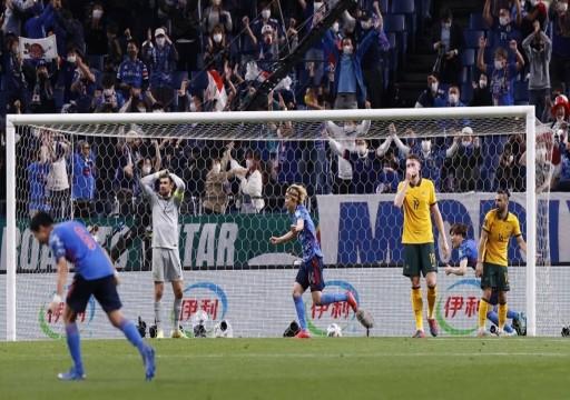اليابان تفوز على أستراليا وتشعل المنافسة مع السعودية وسلطنة عمان