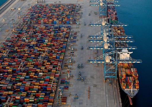 1,83 مليار درهم عائدات موانئ أبوظبي خلال النصف الأول من العام الجاري