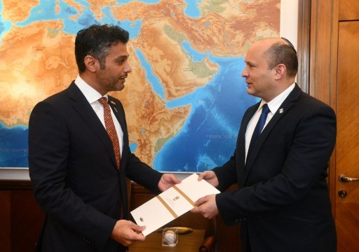محمد بن زايد يدعو رئيس وزراء الاحتلال لزيارة أبوظبي