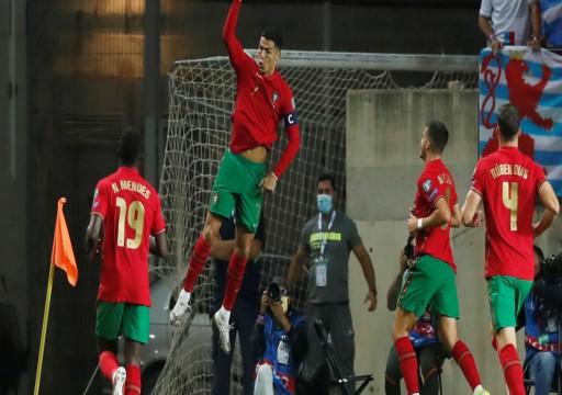رونالدو يقود البرتغال إلى فوز عريض على لوغسمبورغ