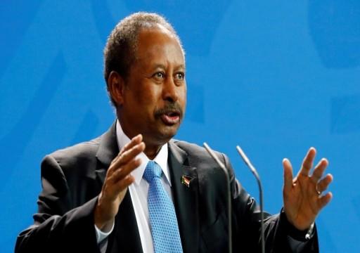 رئيس الحكومة السودانية يكشف عن خريطة طريق لإنهاء الأزمة في بلاده