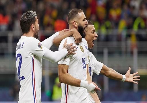 فرنسا تفوز على إسبانيا وتتوج بلقب دوري الأمم الأوروبية