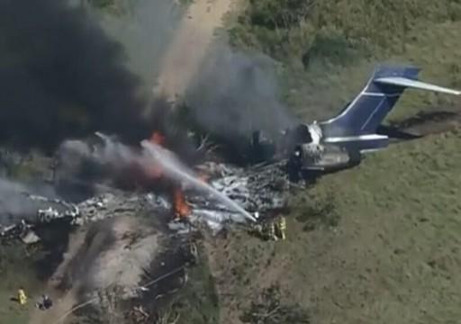 تحطم طائرة ركاب في ولاية تكساس الأمريكية ونجاة جميع ركابها