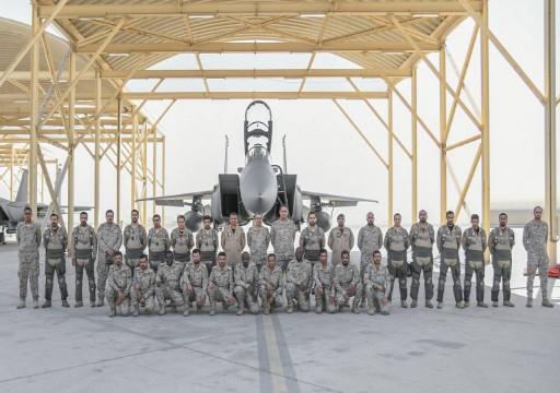 وصول قوات جوية سعودية إلى قاعدة الظفرة للمشاركة في تمرين مشترك